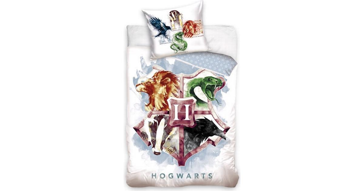 Picture of: Harry Potter Hogwarts Sengetoj 140x200cm Se Priser Hos Os