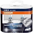 Osram NightBreaker Unlimited HB3 pære +110% mere lys (2 stk)