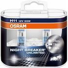 Osram NightBreaker Unlimited H11 pære +110% mere lys (2 stk)