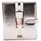 American Crafts DCWV Moment Maker Planner: Silver