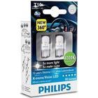 Philips Xenon White LED pære W5W (T10) 4000K (2stk)