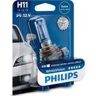 Philips White Vision H11 pære med Xenon effekt & +60% mere lys (1 stk)