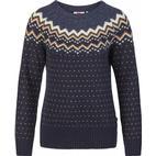 Fjällräven Övik Knit Sweater W - Dark Navy