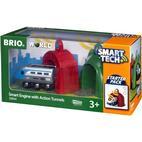 Brio Smart Tech Lokomotiv med action-tunneller 33834