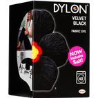 Dylon Fabric Dye Velvet Black 350g