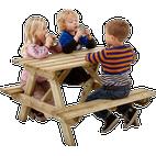 NSH Nordic Bord/bænkesæt (børn) Bord/bænkesæt