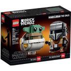 Lego Brick Headz Mandalorianeren & Barnet 75317