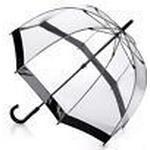 Gennemsigtig paraply Fulton Birdcage 1 Black
