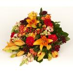 Blomster til begravelse & kondolence Bårebuket