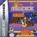 GameBoy Advance spil Millipede / Super Breakout / Lunar Lander