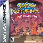 GameBoy Advance spil Pokemon Mystery Dungeon - Red Rescue Team