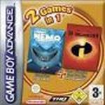 2 games in 1 : Finding Nemo / The Incredibles