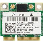 Mini PCI-E - Internt trådløst netværkskort Netværkskort & Trådløse adaptere Dell Wireless 1520 (555-13078)
