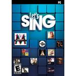 Musik PC spil Let's Sing
