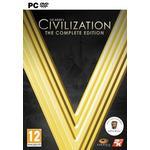 Samling PC spil Sid Meier's Civilization V: The Complete Edition