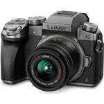 Spejlløst systemkamera Panasonic Lumix DMC-G7 + 14-42mm
