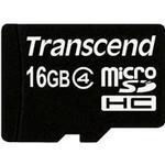 Hukommelseskort Transcend MicroSDHC Class 4 16GB