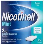 Nicotinell Sugar Free Mint 2mg 204stk