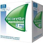 Nikotintyggegummi Nicorette Mentholmint 2mg 210stk