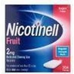 Rygestop Nicotinell Sugar Free Fruit 2mg 204stk