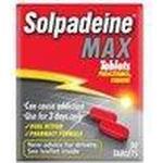 Solpadeine Håndkøbsmedicin Solpadeine Max 500mg 30stk