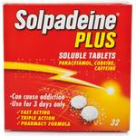 Solpadeine Plus 500mg 32stk