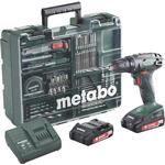Boremaskine Metabo BS 18 Set
