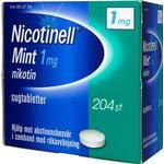 Nicotinell Mint 1mg 204stk