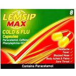 Lemsip Max Cold & Flu 500mg 8stk
