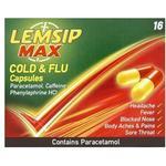 Lemsip Max Cold & Flu 500mg 16stk