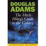 Hardback - Science Fiction & Fantasy Bøger The Hitchiker's guide to the galaxy: a trilogy in five parts (Inbunden, 1995), Inbunden