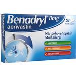 Benadryl 8mg 24stk
