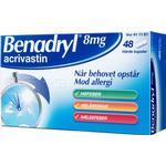 Benadryl 8mg 48stk