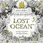 Lost Ocean: An Inky Adventure and Coloring Book for Adults (Häftad, 2015), Häftad