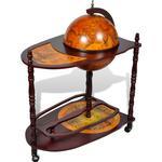 Brugskunst vidaXL Bar Globe 99cm Barskab