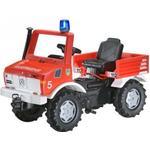 Gåbil Rolly Toys Fire Brigade Unimog With Gears & Handbrake