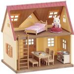 Dukkehuse Sylvanian Families Cozy Cottage begynderhus med møbler
