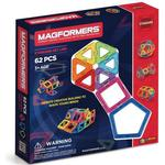 Legetøj Magformers Rainbow 62pc Set Dele