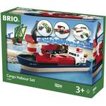 Legetøjsbåd Brio Togbane Havnesæt 33061