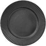 Sort - Tallerkener Lyngby Dinner Plate Flad Tallerken 27 cm