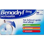 Benadryl 8mg 96stk