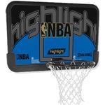 Basketkurv Spalding NBA Highlight Backboard