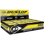 Squashbolde - Dobbelt gult Dunlop Pro 12-pack