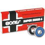 Skateboard tilbehør Bones Super Swiss 6 8-pack