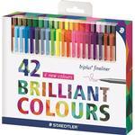 Blyanter Staedtler Triplus Fineliner Color Pens 0.3mm 42-pack