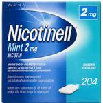 Nicotinell Mint 2mg 204stk