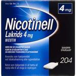 Nicotinell Lakrids 4mg 204stk