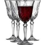 Køkkenudstyr på tilbud Lyngby Melodia Rødvinsglas 27 cl 4 stk