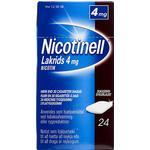Nicotinell Lakrids 4mg 24stk