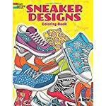 Sneaker Designs Coloring Book (Dover Coloring Books)